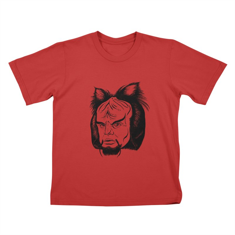Woorf Kids T-Shirt by dZus's Artist Shop