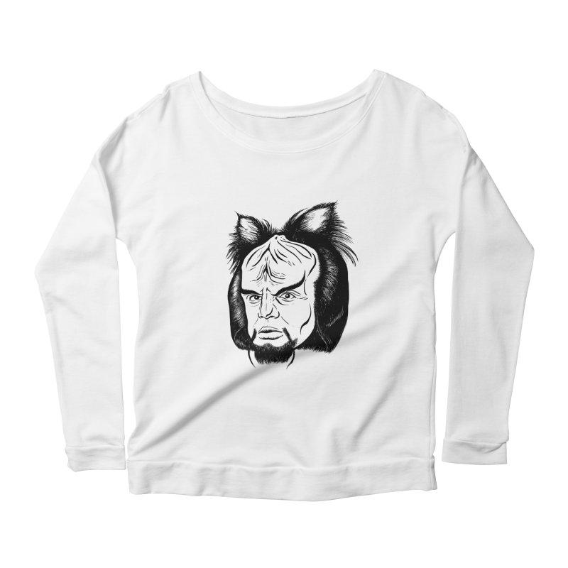 Woorf Women's Scoop Neck Longsleeve T-Shirt by dZus's Artist Shop