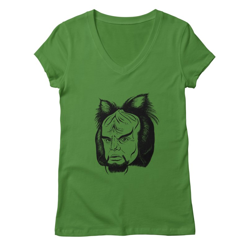 Woorf Women's Regular V-Neck by dZus's Artist Shop