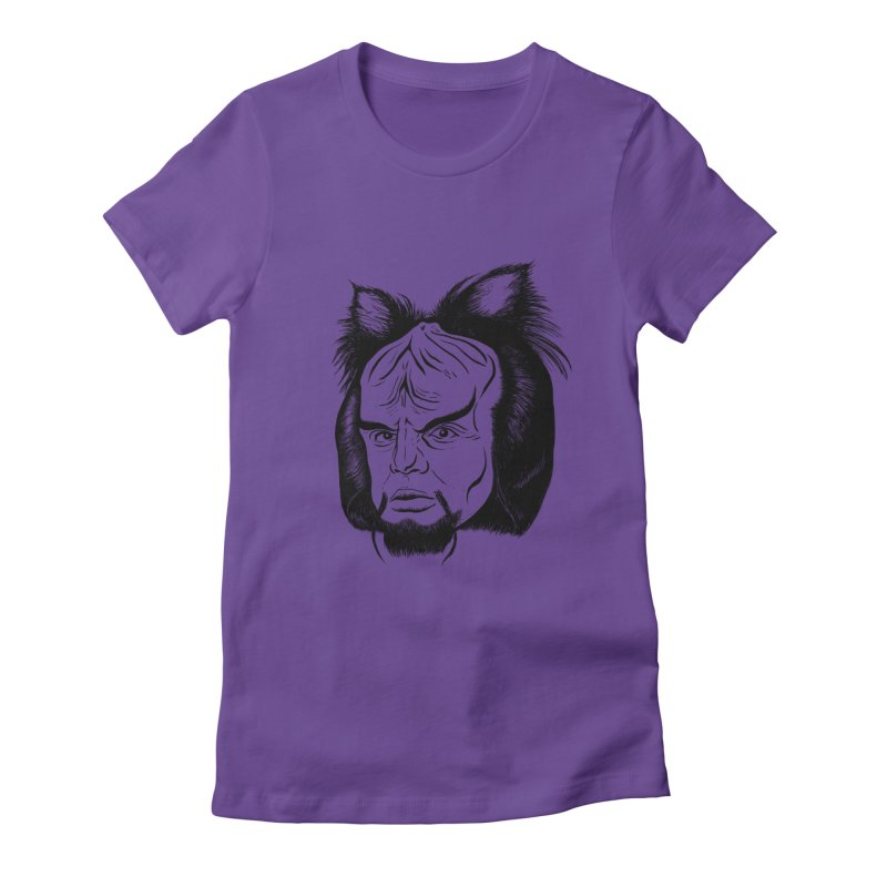 Woorf Women's Fitted T-Shirt by dZus's Artist Shop