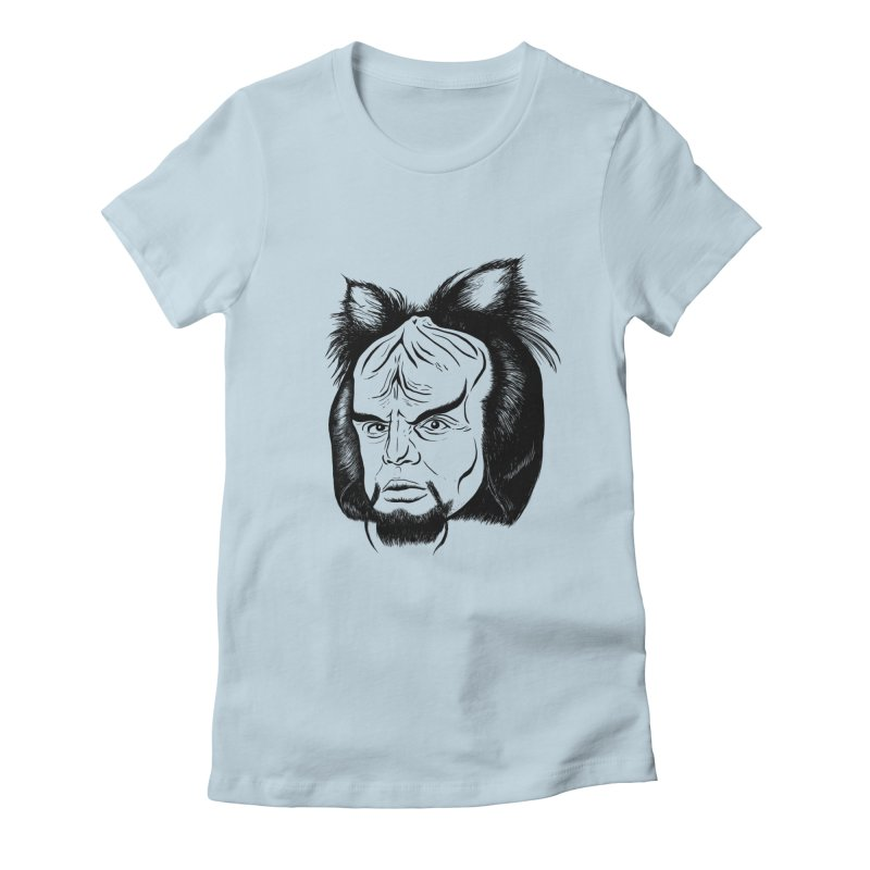 Woorf Women's Fitted T-Shirt by dZus's Artist Shop