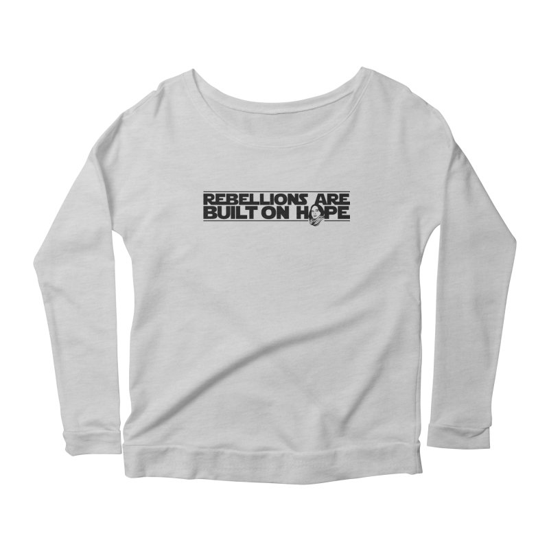 Stardust Women's Scoop Neck Longsleeve T-Shirt by dZus's Artist Shop