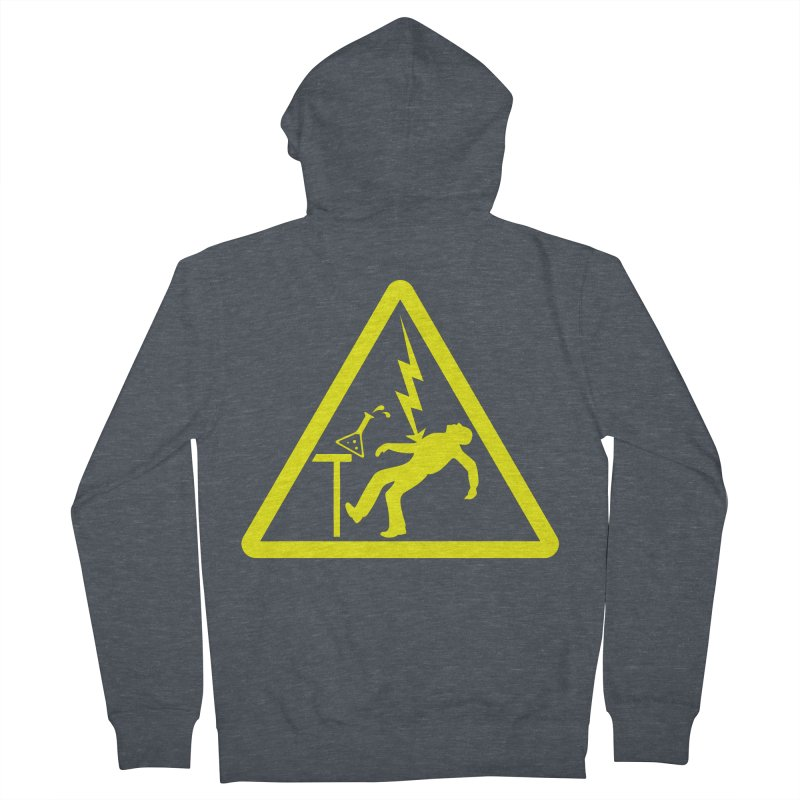 Barry Men's French Terry Zip-Up Hoody by dZus's Artist Shop