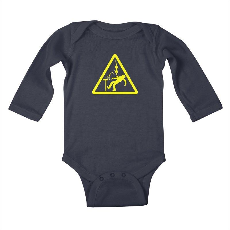 Barry Kids Baby Longsleeve Bodysuit by dZus's Artist Shop