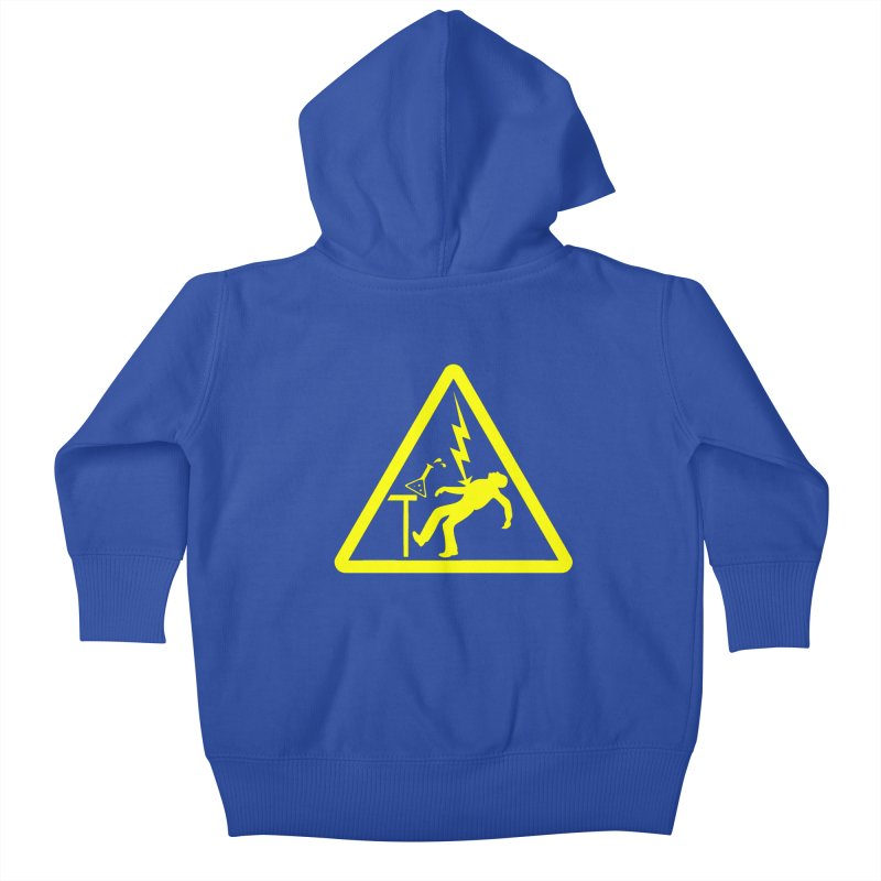 Barry Kids Baby Zip-Up Hoody by dZus's Artist Shop