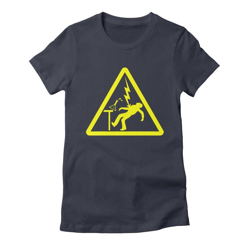 Barry Women's Fitted T-Shirt by dZus's Artist Shop