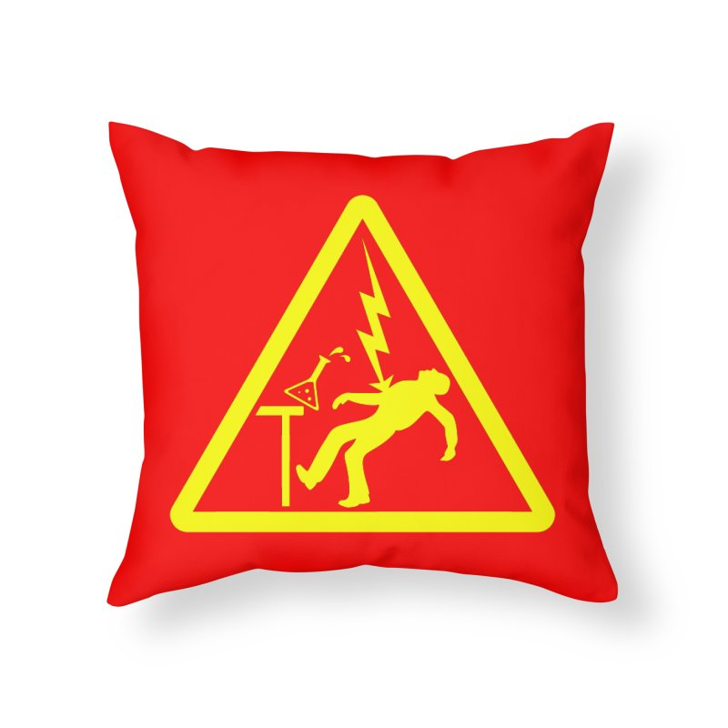 Barry Home Throw Pillow by dZus's Artist Shop