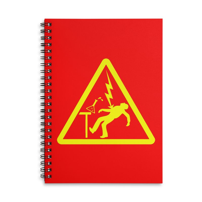 Barry Accessories Lined Spiral Notebook by dZus's Artist Shop