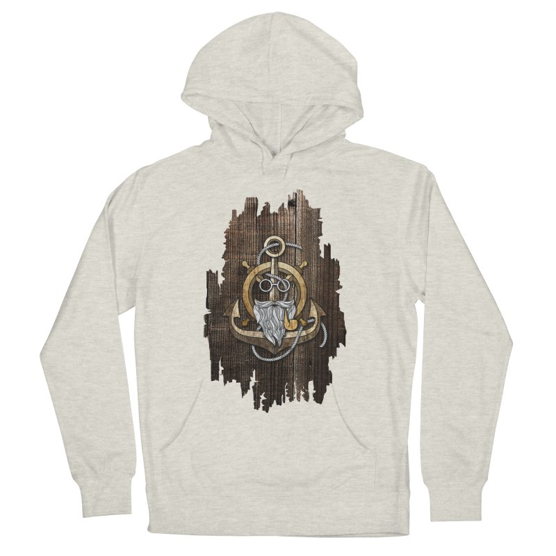 The Wise Sailor (Brown) Men's Pullover Hoody by eagle919's Artist Shop