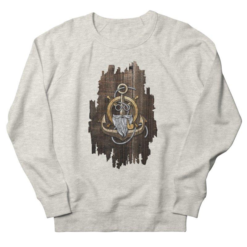 The Wise Sailor (Brown) Men's Sweatshirt by eagle919's Artist Shop