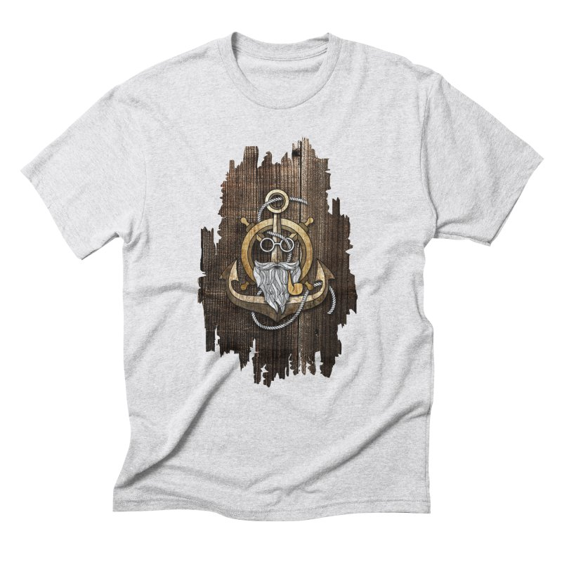 The Wise Sailor (Brown) Men's Triblend T-Shirt by eagle919's Artist Shop