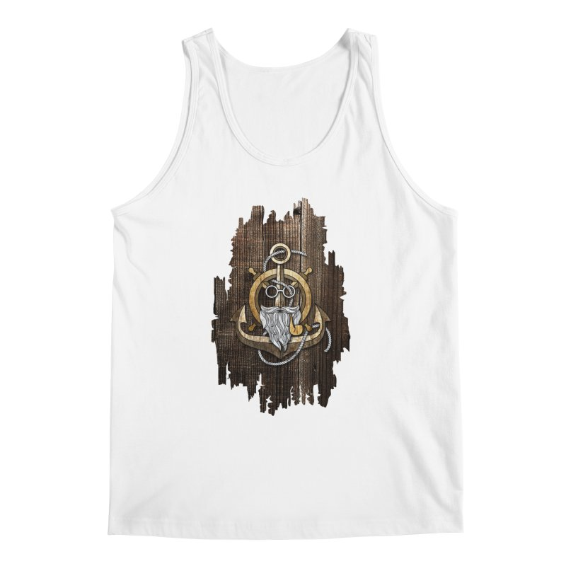 The Wise Sailor (Brown) Men's Tank by eagle919's Artist Shop