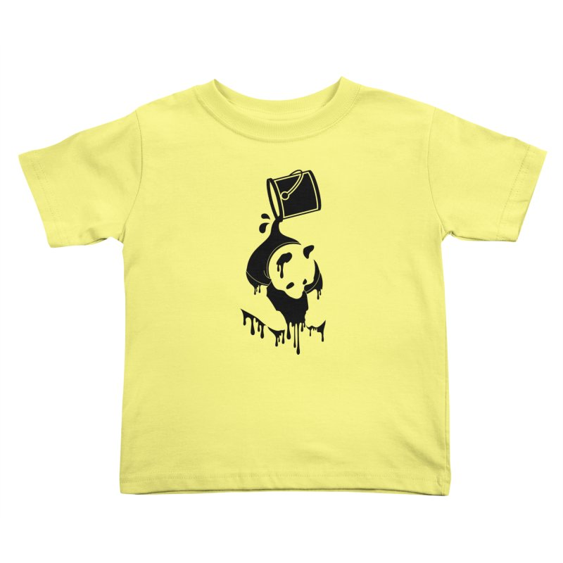Panda Kids Toddler T-Shirt by eagle919's Artist Shop