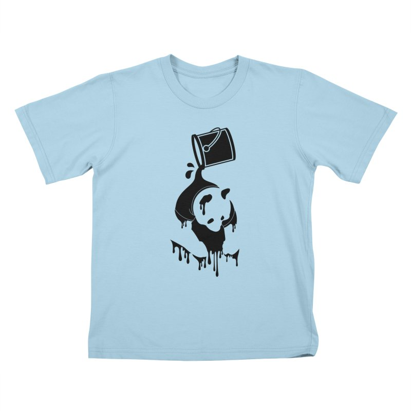 Panda Kids T-shirt by eagle919's Artist Shop