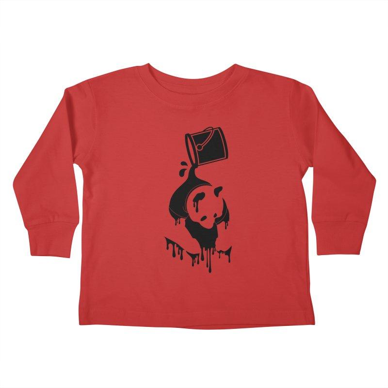 Panda Kids Toddler Longsleeve T-Shirt by eagle919's Artist Shop