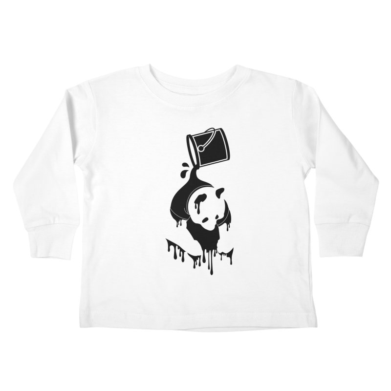 Panda Kids Toddler Longsleeve T-Shirt by eagle919's Artist Shop