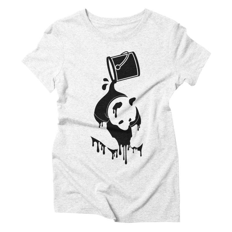 Panda Women's Triblend T-shirt by eagle919's Artist Shop