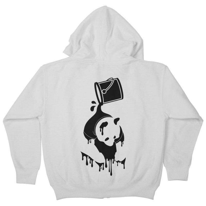 Panda Kids Zip-Up Hoody by eagle919's Artist Shop