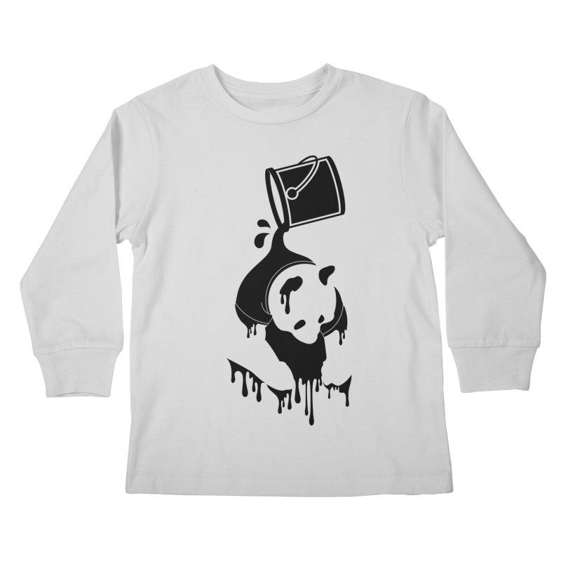 Panda Kids Longsleeve T-Shirt by eagle919's Artist Shop