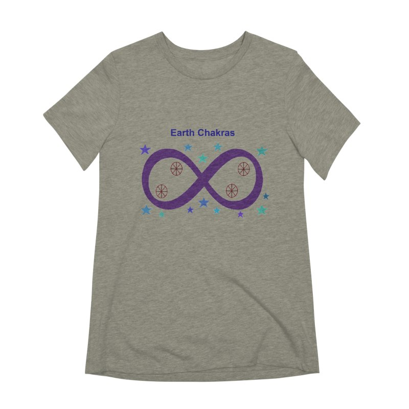 Earth Chakras Women's Extra Soft T-Shirt by earthchakras Artist Shop