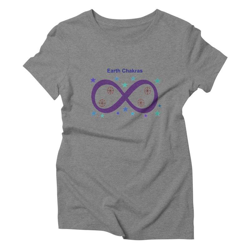 Earth Chakras Women's Triblend T-Shirt by earthchakras Artist Shop
