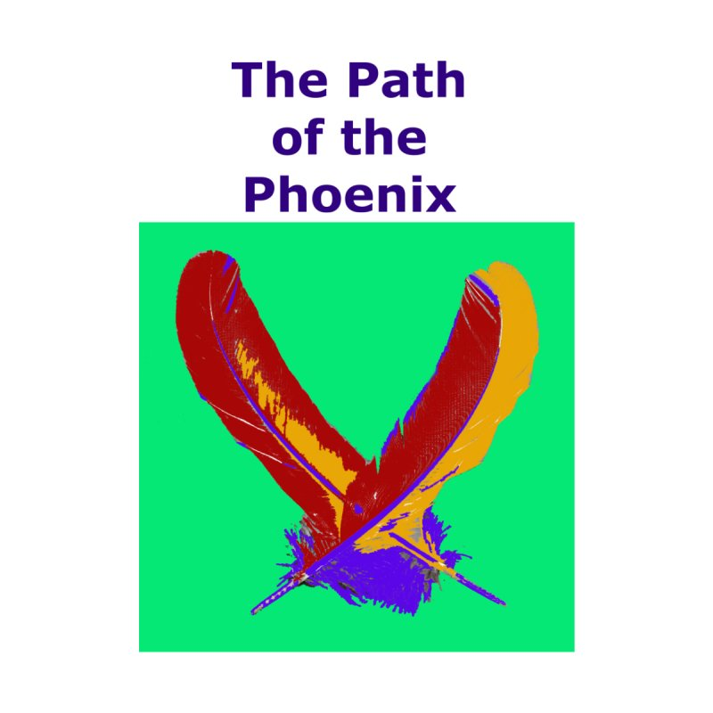 The Path of the Phoenix Women's Fitted T-Shirt by earthchakras Artist Shop