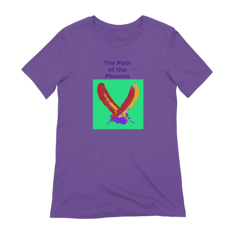 The Path of the Phoenix Women's Extra Soft T-Shirt by earthchakras Artist Shop