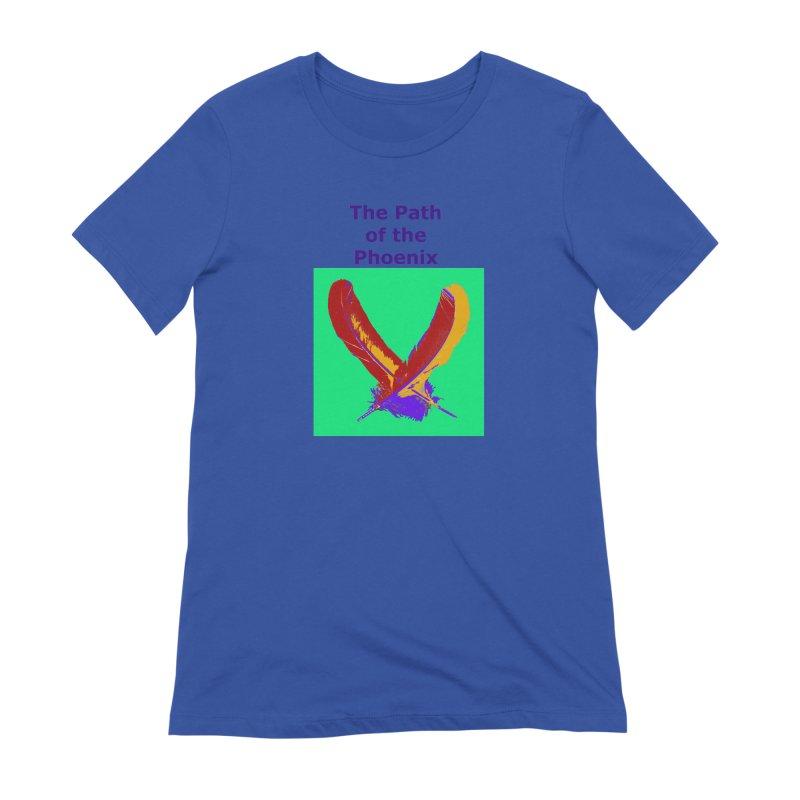 The Path of the Phoenix Women's T-Shirt by earthchakras Artist Shop
