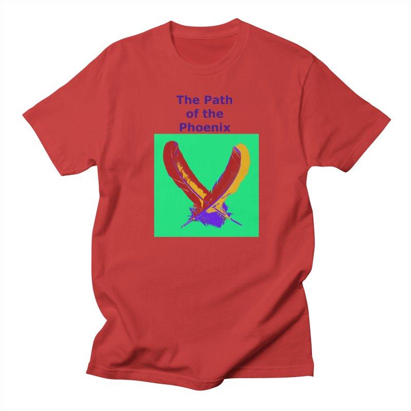 The Path of the Phoenix Men's Regular T-Shirt by earthchakras Artist Shop