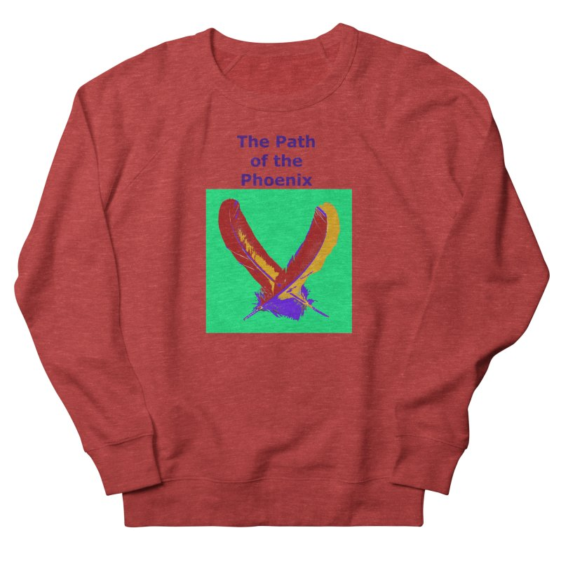 The Path of the Phoenix Men's French Terry Sweatshirt by earthchakras Artist Shop