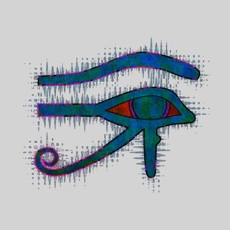 Eye of Ra Women's V-Neck by earthfiredragon