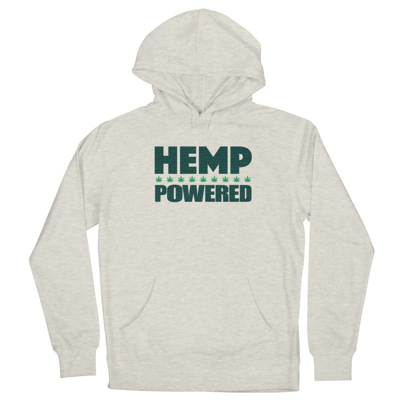 Hemp Powered Men's Pullover Hoody by earthfiredragon