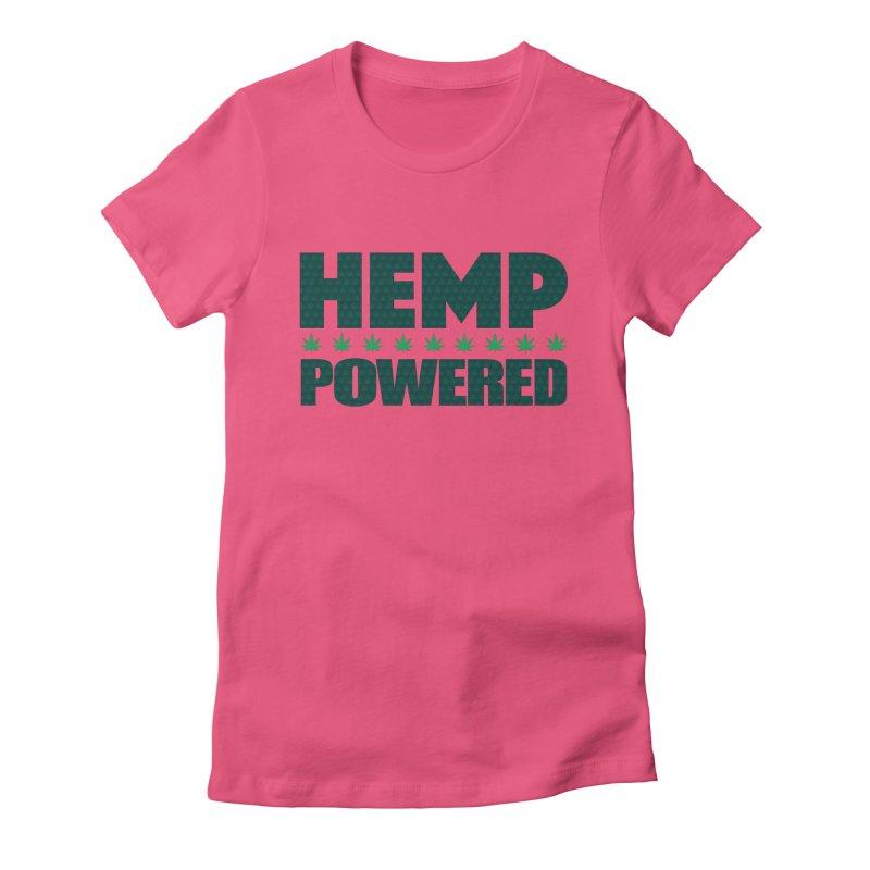 Hemp Powered Women's T-Shirt by earthfiredragon