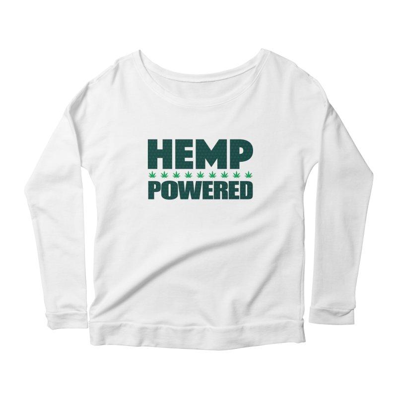 Hemp Powered Women's Longsleeve T-Shirt by earthfiredragon