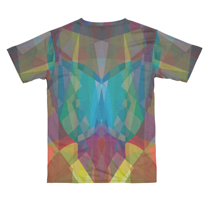 GeoColorGlass Men's Cut & Sew by earthfiredragon