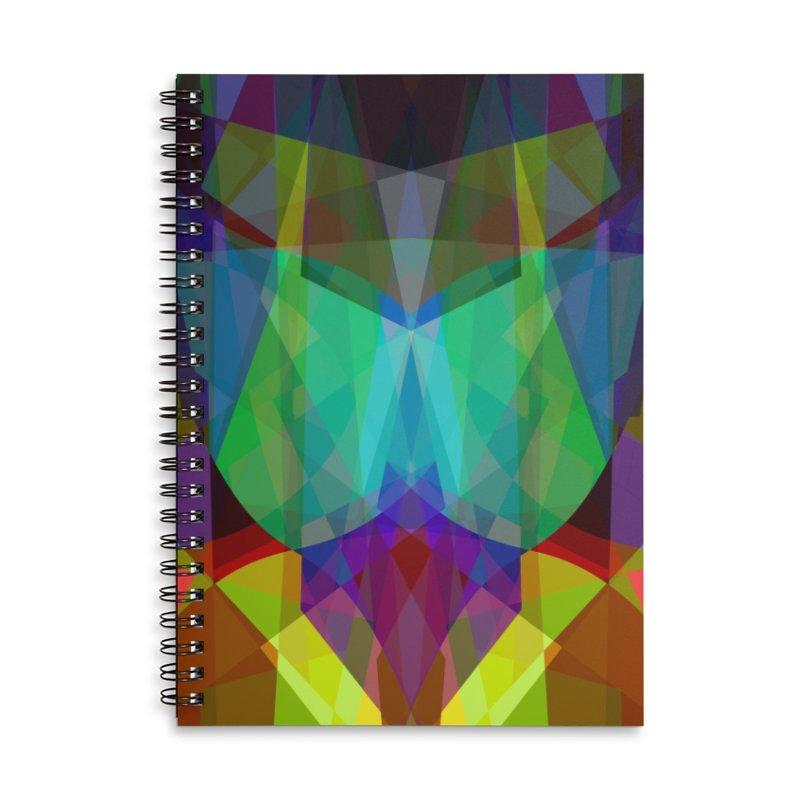 GeoColorGlass Accessories Notebook by earthfiredragon