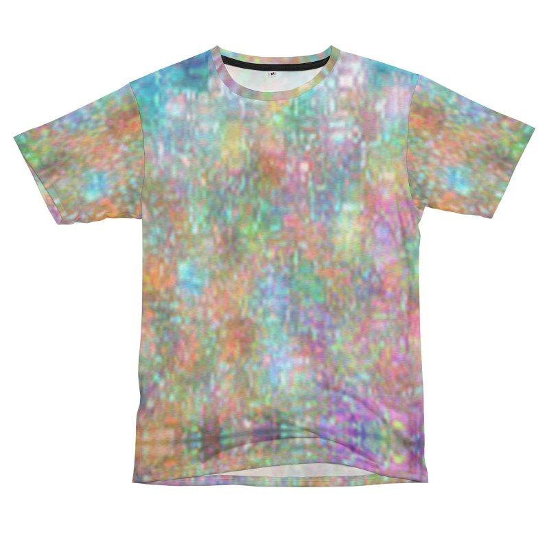 Digi Tie Dye Men's French Terry T-Shirt Cut & Sew by earthfiredragon