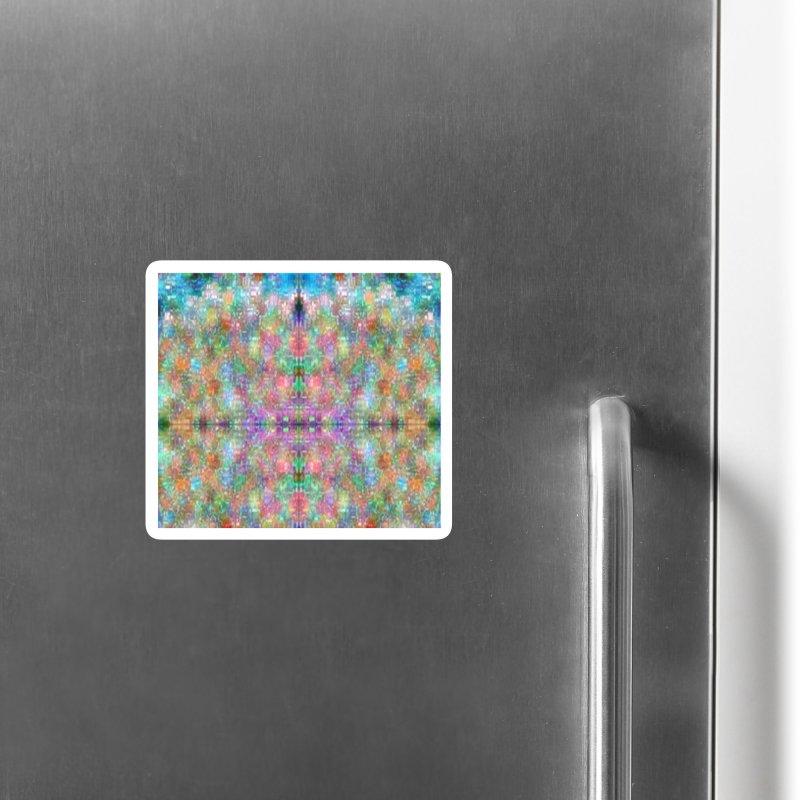 Digi Tie Dye Accessories Magnet by earthfiredragon