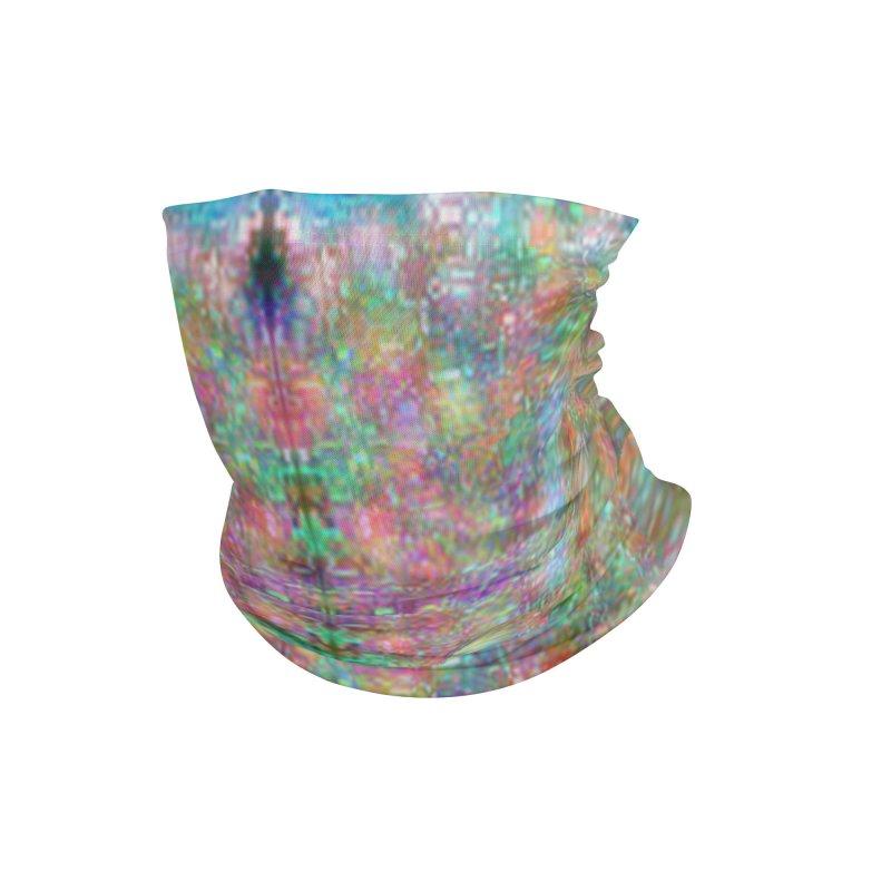 Digi Tie Dye Accessories Neck Gaiter by earthfiredragon