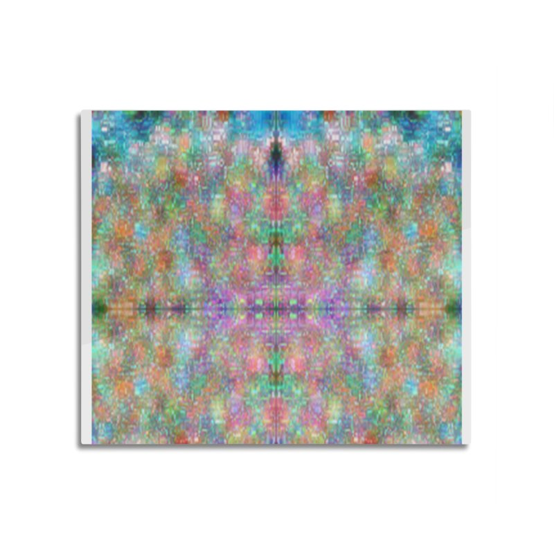 Digi Tie Dye Home Mounted Aluminum Print by earthfiredragon