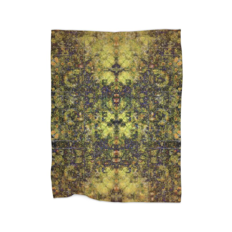 Pareidolia Chamber Home Blanket by earthfiredragon