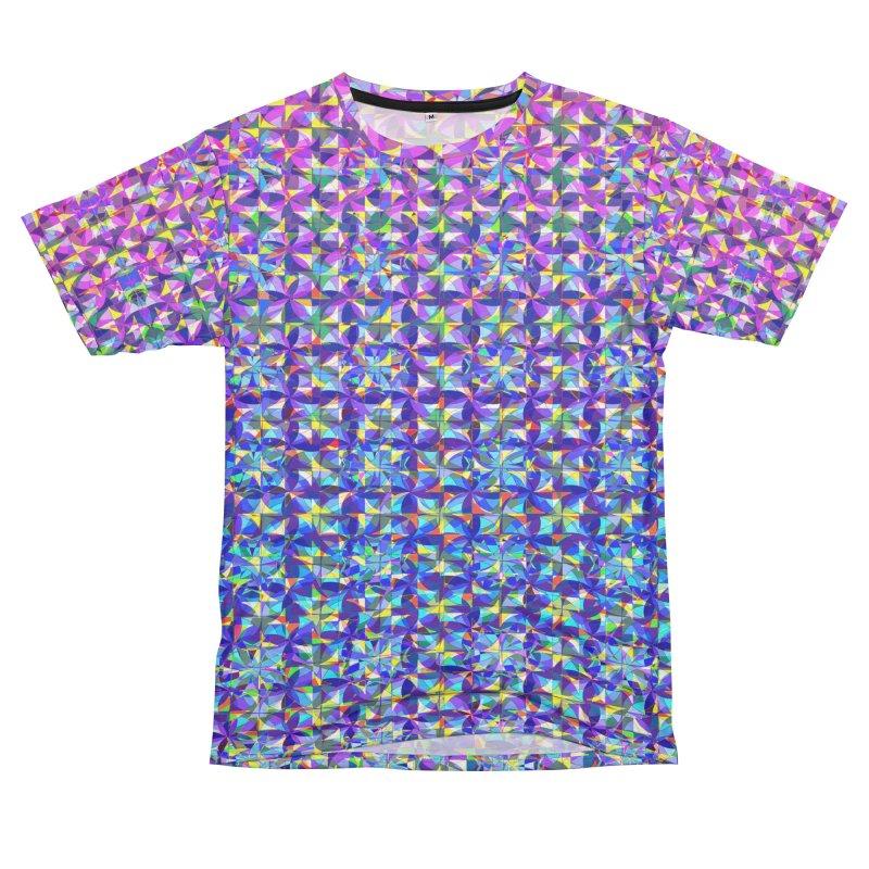 Pinwheels Men's French Terry T-Shirt Cut & Sew by earthfiredragon