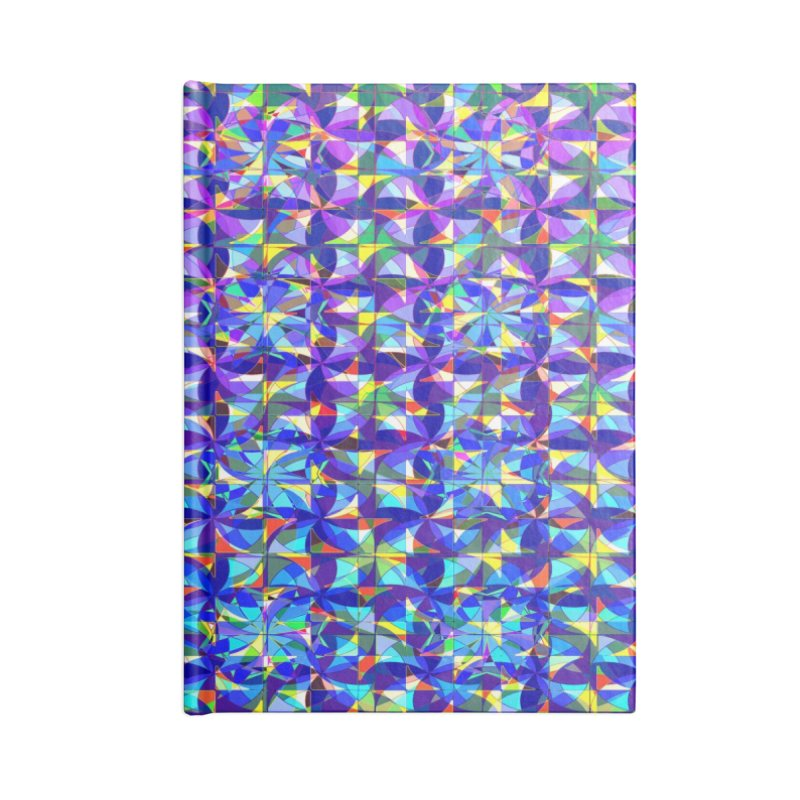 Pinwheels Accessories Notebook by earthfiredragon