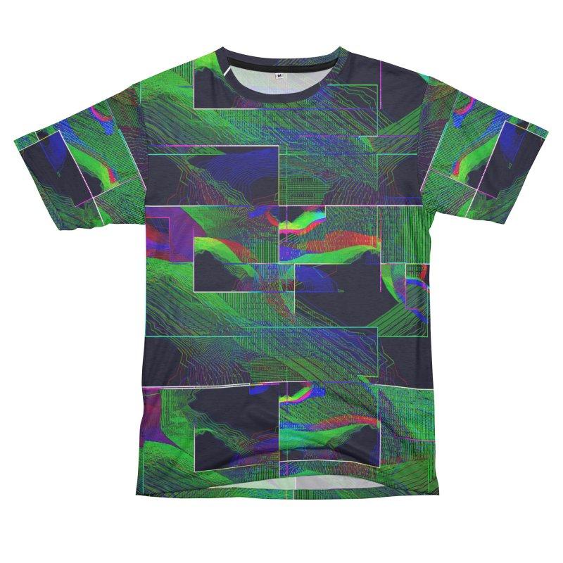 Alien Terrain Men's French Terry T-Shirt Cut & Sew by earthfiredragon