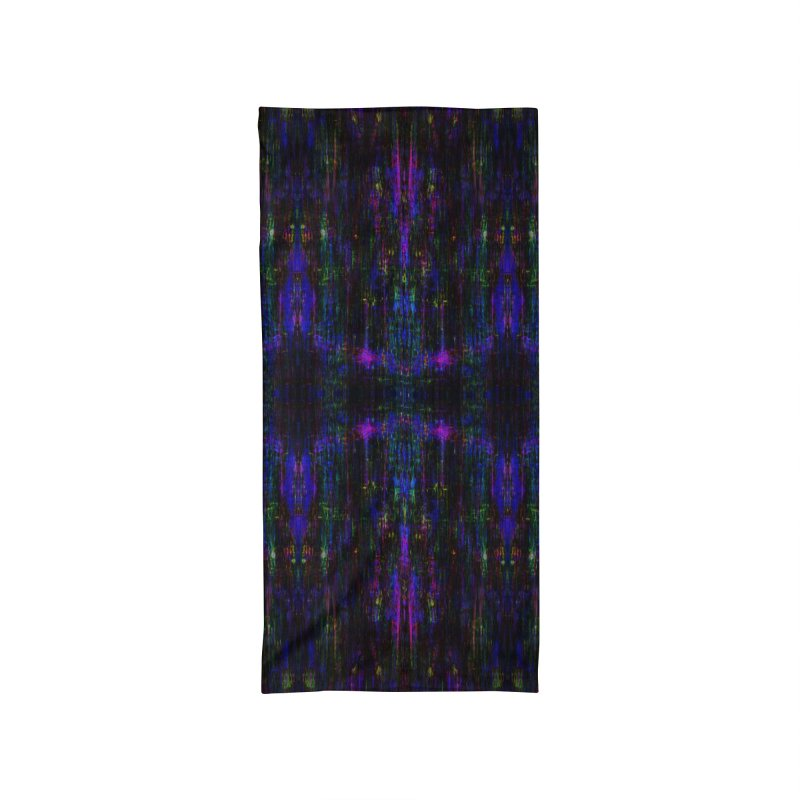 Blue Digital Accessories Neck Gaiter by earthfiredragon