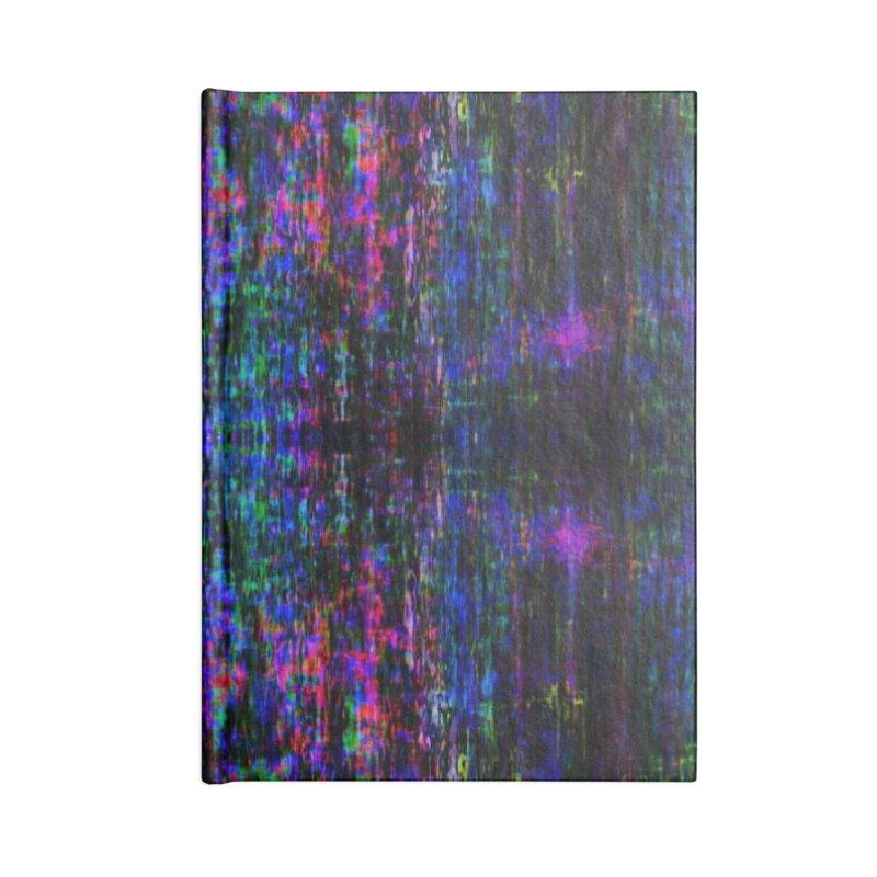 Blue Digital Accessories Notebook by earthfiredragon