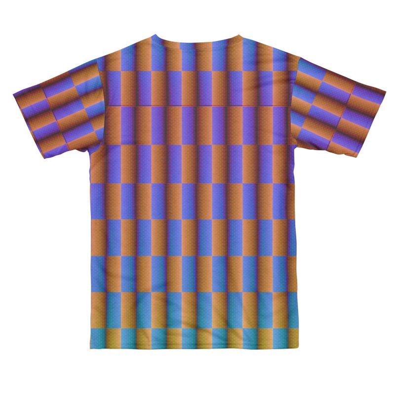 Moving Checkerboard Men's Cut & Sew by earthfiredragon