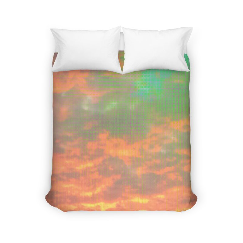 Digital Sky Home Duvet by earthfiredragon