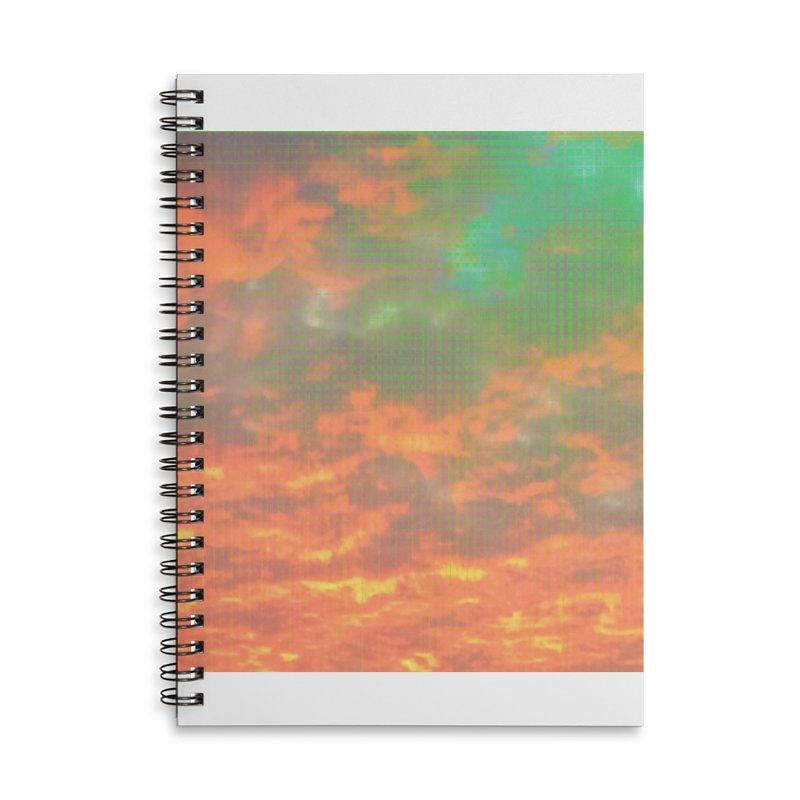 Digital Sky Accessories Notebook by earthfiredragon