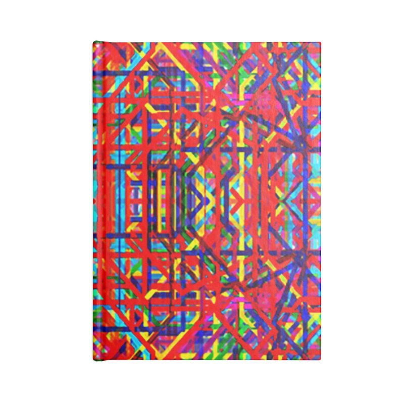Neural Energy Accessories Lined Journal Notebook by earthfiredragon